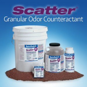 Scatter Granular Odor Counteractant Dumpster Control