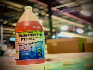 Potty Fresh Spray Washdown Solution