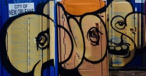 Graffiti Vandalism Remover For Porta-Potty Operators