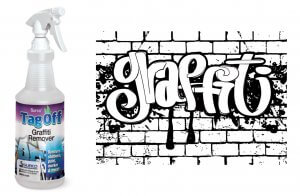 Tag Off Graffiti Remover Is The Most Powerful Eraser